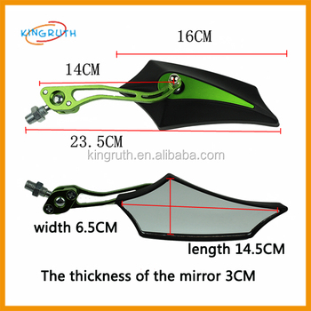 motorcycle mirror cnc Rearview Side Mirror 8MM 10MM