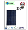 China manufacturer of 210w solar modules PV panel 210 watt poly solar panel