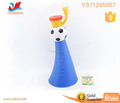 wholesale kids cheap trumpet toys football game bule plastic trumpet
