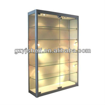 Hot selling free standing glass shelves buy free - Glass free standing shelves ...