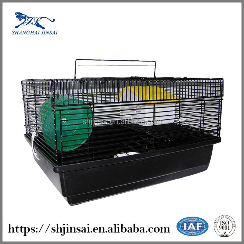 Mesh Box Wire Cage Metal Bin Storage Container Cage Dog Small Pet Cages