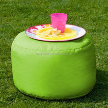 bar seat cushion , tea cup bean bag holder, waterproof green ottomans and stools