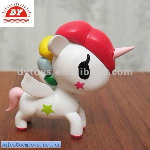 Unicornio de juguete de pl stico juguetes otros y hobby for Juguetes de plastico