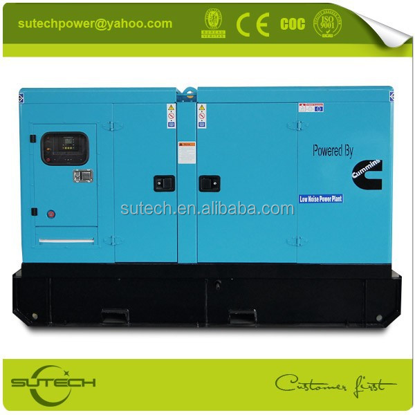 Fast delivery 125Kva Cummins silent genset, powered by Cummins 6BTA5.9-G2 engine