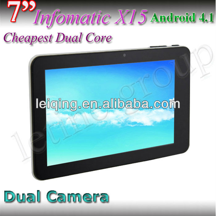 Factory New 7inch andorid 4.1 dual core pc tablet mid