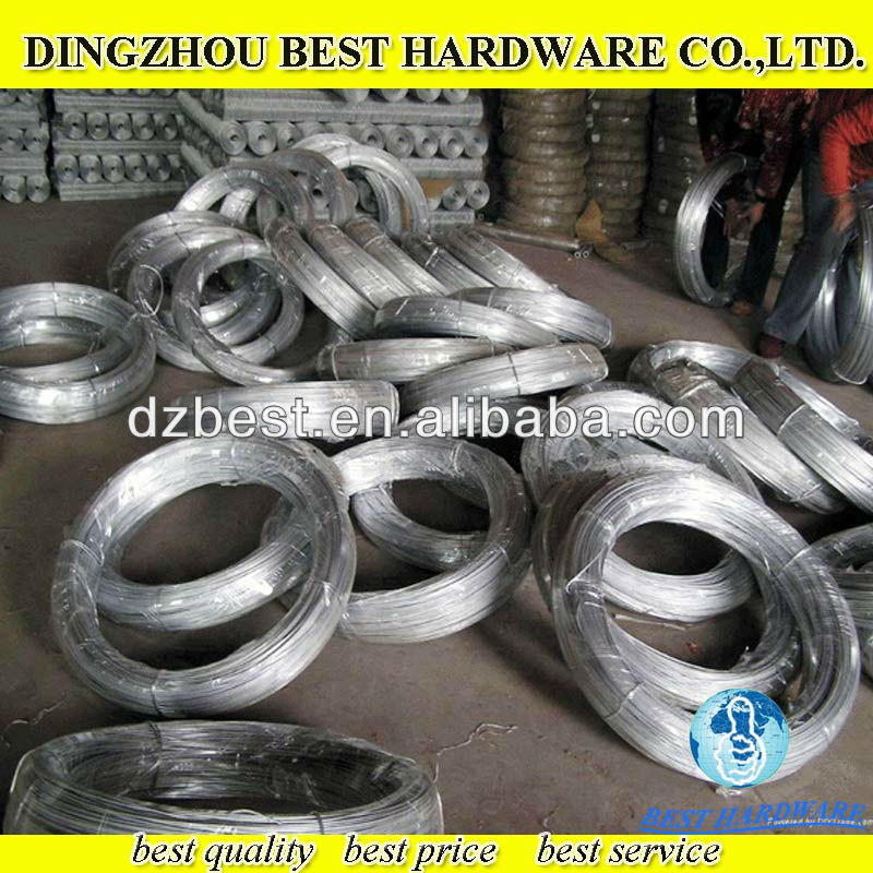 eletric galvanized binding iron wire for reinforcement steel