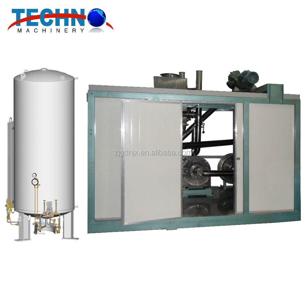 Frozen dried Food cryogenic pulverizer