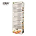 Supermarket Shelf For Vegetables And Fruits Display /Storage Cardboard Display