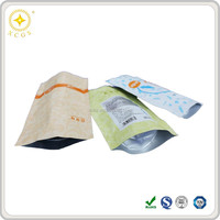 High temperature aluminum foil retort pouch food boiling plastic bag