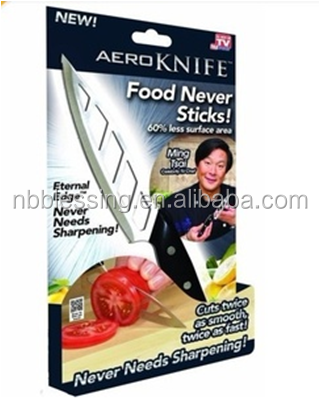 as seen on tv stainless steel kitchen Aero knife