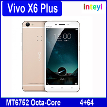 "Original Vivo X6 Plus 4GB RAM 64GB ROM Cell Phone 5.7"" Inch Funtouch 2.5 OS MT6752 Octa-Core 1.7GHz Dual SIM 13MP LTE Smartphone"