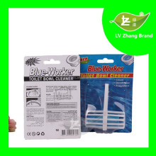 Hanging Basket Solid Block Toilet Bowl Cleaner, Clip-On Toilet Cleaner Block & Air Fresheners