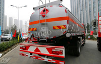 Oil semi trailer tanker truck gas tank trailer with High quality