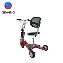 Ce Approved Cheap 3 Wheel Stand Up Electric Handicapped Mobility Scooter