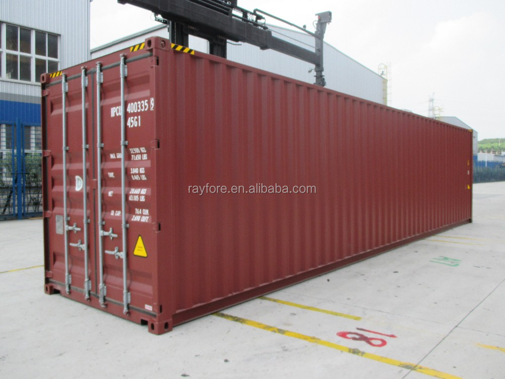 40HQ used shipping container 40HC new dry container