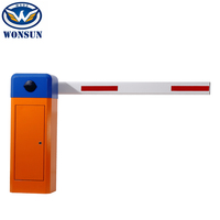 Rfid Reader Car Park Barrier Automated Electric Parking Boom Barrier