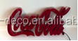 Electrical/lighting/manufacturing LED sign of Coca cola acrylic sign