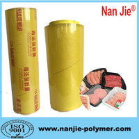 Soft plastic packing film super clear PVC pallet stretch film 13micron manufacturer