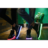 Charge Shoes new style high neck hot young couple shining shoes