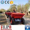 CE certificated hot sale high quality small wholesale hydraulic best price 4 wheel self-loading farm garden mini dumper price