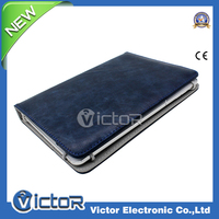 Unique two size pu leather tablet case flip leather case for iPad 3