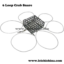 High quality and good price C6 Loop wire folding crab trap
