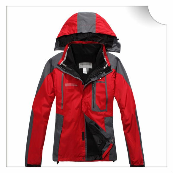 fashion red men brand name jacket