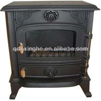 Qingdao cast iron fireplace insert