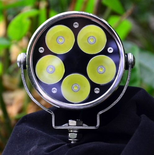 Wholesale 50w led motorcycle head light, led fog light for motorcycle/electric bike/bicycle/off road