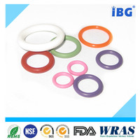 silicone rubber D shape spring o ring at low price , various size replacement o ring for atomizer