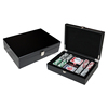200 Wooden Premium Poker Chip Set