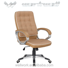 WorkWell italian classic leather king throne office chair Kw-m7149