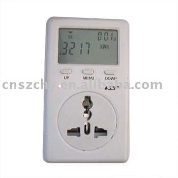 how to read digital energy meter