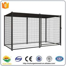 Hot sale hot sale folding dog kennel &dog cages with roof Huilong factory direct