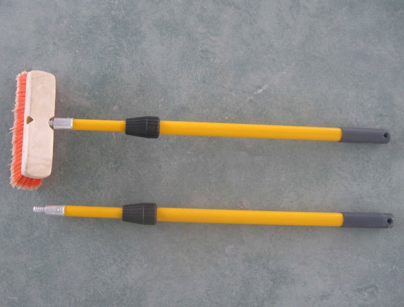 fiberglass/ telescopic rod(outer lock)