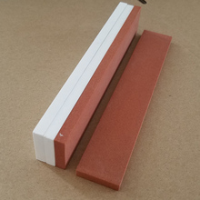Ceramic Sharpening Stone for Knives, Carborundum and Aluminum Oxide Abrasive Whetstone