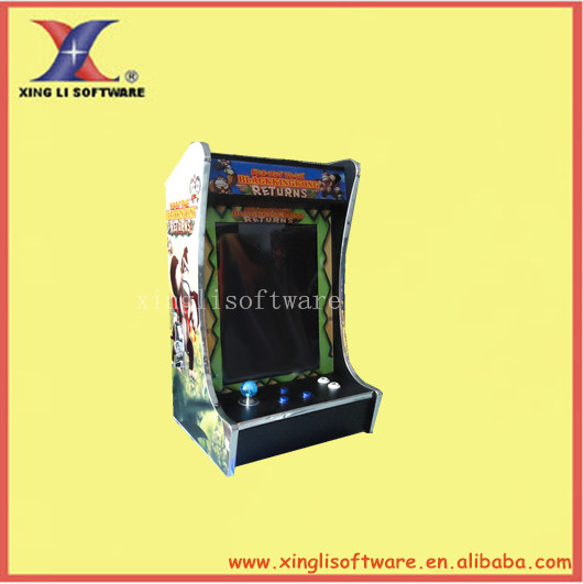 19 inch LCD Mini King kong (Verical) Cocktail Machine With Classical games 60 in 1 Game PCB /bartop arcade machine