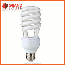 Half spiral energy saving light bulb with CE certificated 40W