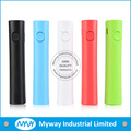 2016 Factory promotional gift 3000mah round shape power bank battery charger with LED