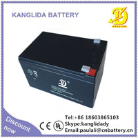 12v12ah storage lead acid battery for solar lamp rechargeable vrla battery