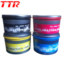 Sublimation Ink use Offset Machine to Transfer Printing t-shirt Ink