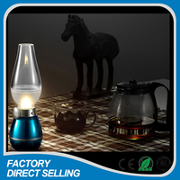 citronella oil lamp battery power hotel table lamp