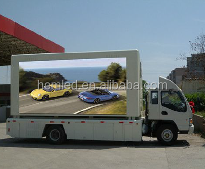 Latest Advertising Technology Mobile P10mm Outdoor LED Display Screens