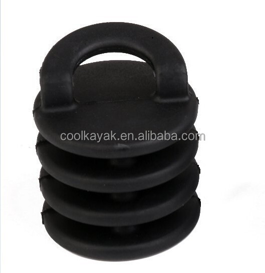 Vulnerability kayak/canoe accessories Kayak Rubber Scupper Stoppers plug in the bottom of kayaks