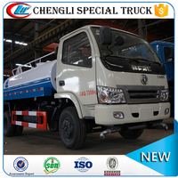 Dongfeng 4x2 5000 gallon water truck delivery sprayer mobile water tank
