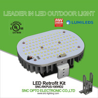 SNC UL CUL 100W led street light retrofit kit replace 250W HID / HPS / CFL / MHL / MHI / HQL / HQI