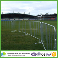 interlocking strong metal temporary road safety Barriers