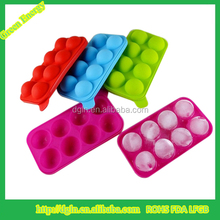 Silicone Ice Cube Tray with Lid Custom Food Grade Silicone Ball Shape Silicone Ice Cube