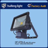 10-50w portable led construction rechargeable work flood light