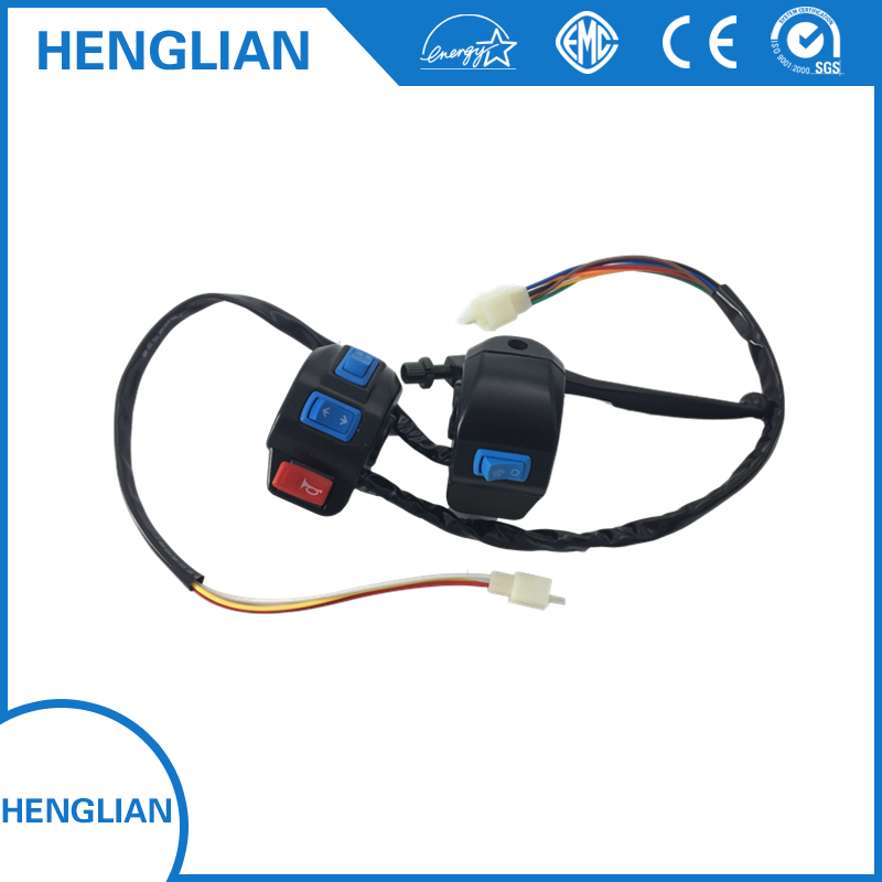 Electric tricycle spare parts-handle switch